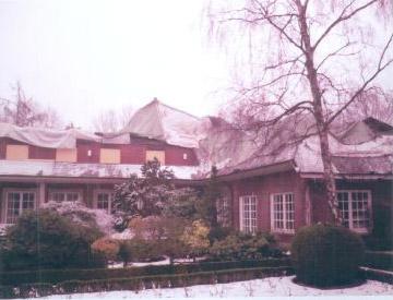 Branschaden einer Villa